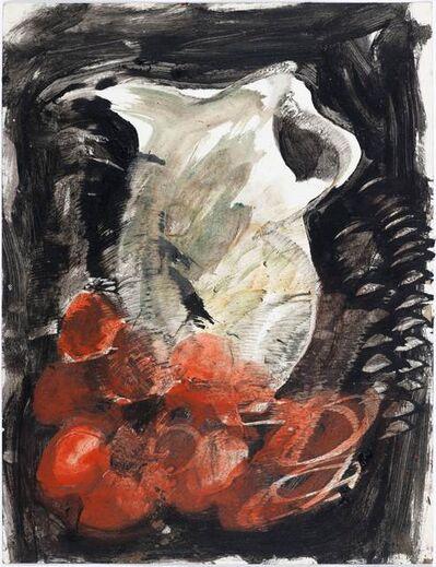Miquel Barceló, 'Le vase avec oranges'
