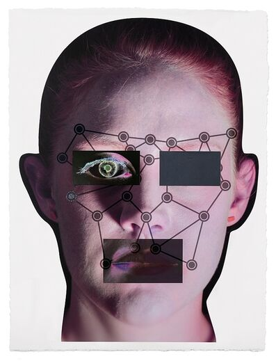 Tony Oursler, 'Recognition (image 1-1.2)', 2020