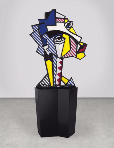 Roy Lichtenstein, 'Expressionist Head', 1980