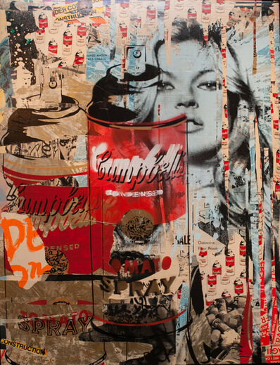 Mr. Brainwash, 'Kate Moss', 2011