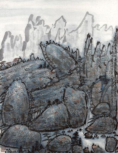 Fang Zhaoling 方召麐, ' Blue Landscape 藍色山水 ', 1985