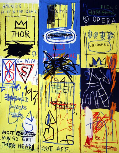 Jean-Michel Basquiat, 'Charles The First', 1982/2005