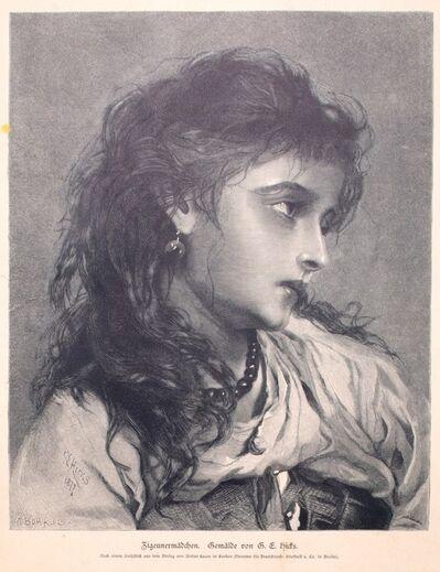 George Elgar Hicks, 'Woman', 1877