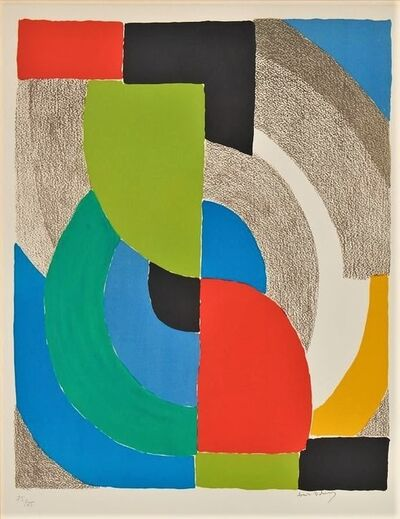 Sonia Delaunay, 'Helice Olympie', 1969