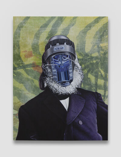 Jim Shaw, 'Official Portrait #5 (Jungle Cooper)', 2018