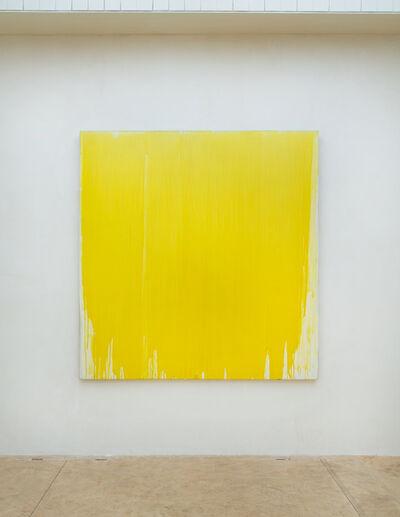 Joseph Marioni, 'Ohne Titel (Komposition in Gelb)', 1989
