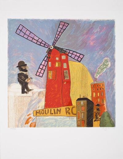 Antonio Seguí, 'Moulin Rouge', 1985
