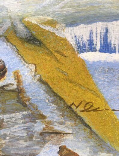 Naseem Sajda Qureshi, 'Aptabaad waterfall', 1995