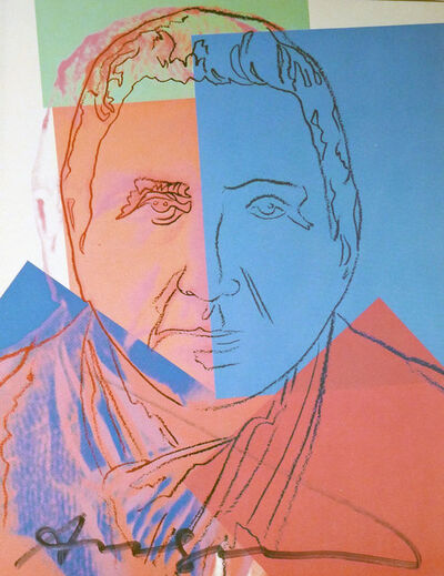 Andy Warhol, 'Gertrude Steinn (FS II.227) Trial Proof', 1980
