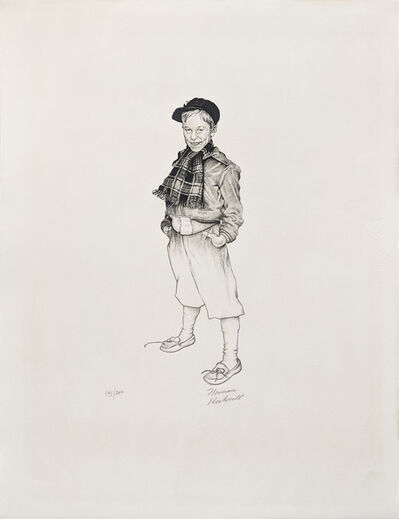 Norman Rockwell, 'JERRY', 1971