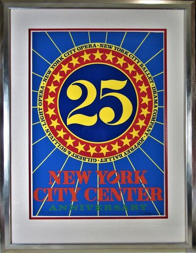 Robert Indiana, 'New York City Center 25th Anniversary', 1968