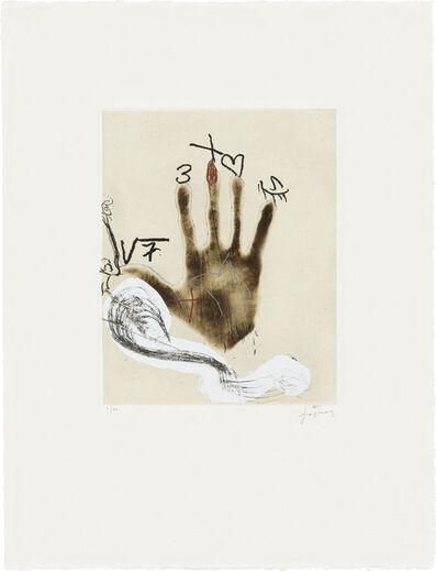 Antoni Tàpies, 'Mà', 2008