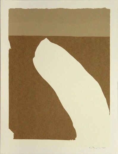 Robert Motherwell, 'Flight', 1971