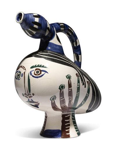 Pablo Picasso, 'Madoura Ceramic Pitcher-'Canard pique-fleurs,' Ramié 117', 1950-1959