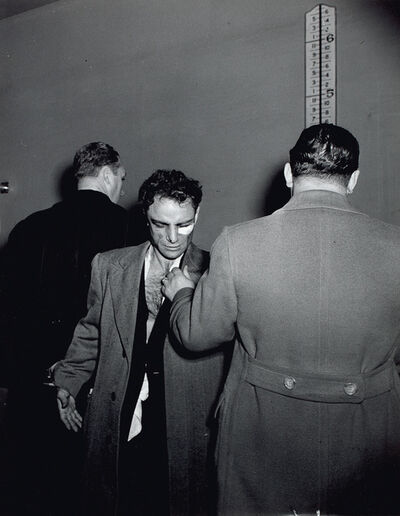 Weegee, 'Anthony Esposito, Accused 'Cop Killer,' January 16', 1941