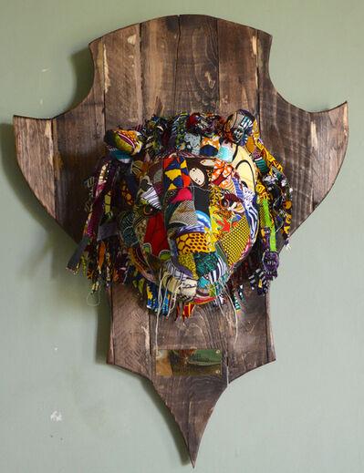 Louis Masai, '« Fauxdermy » - Hang your head - The lion', 2019
