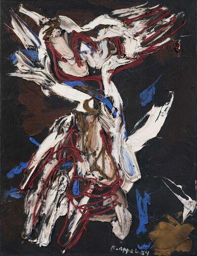 Karel Appel, 'Personnage dans la tempête', 1954