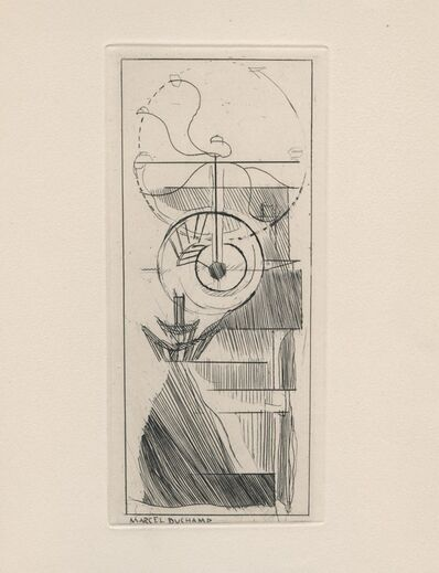 Marcel Duchamp, ' Coffee Mill', 1947