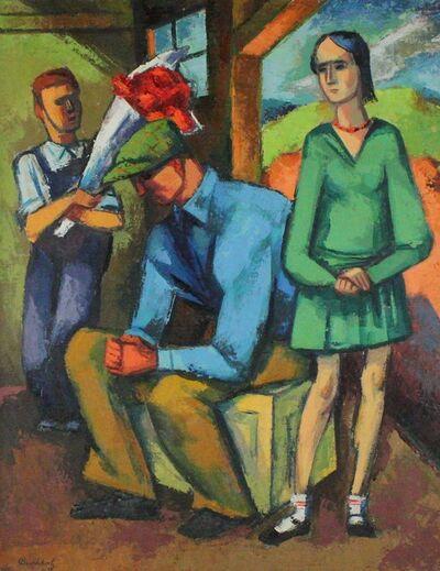 Frederick Buchholz, 'Getting Permission', 1930