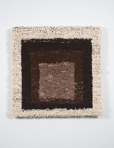 Yael Kanarek, 'Nude, No. 2 (My Albers)', 2010