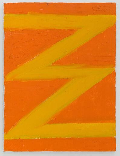 Thornton Willis, 'A Late Zig-Zag', 2003