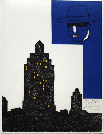 Eduardo Arroyo, 'Mask Composition'