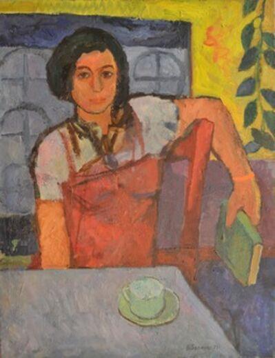 Vadim Semenovich Velichko, 'Girl with red dress', 1971