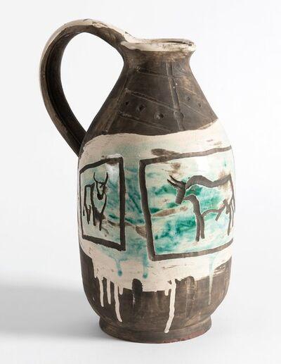 Pablo Picasso, 'Pichet Trois Taureaux Graves', 1953