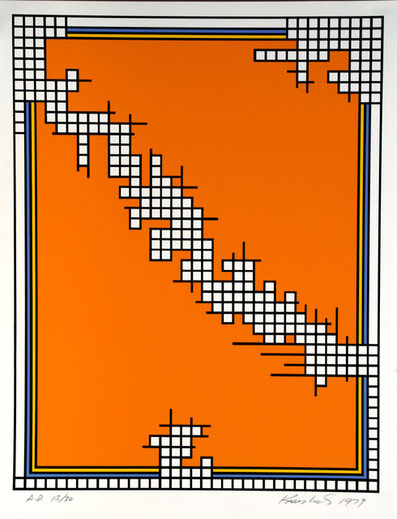 Nicholas Krushenick, 'Untitled (Wire Mill Variant)', 1978