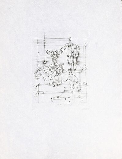 "Hans Bellmer, 'Untitled, from the portfolio ""Hommage à Picasso"" (Homage to Picasso)', 1973"