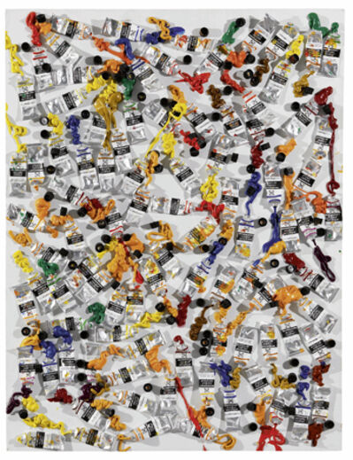 Arman, 'Differences of opinion', 1986