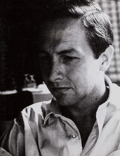 Plinio De Martiis, 'Robert Rauschenberg', 1961