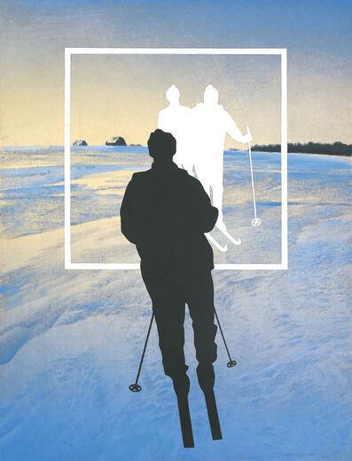 Oleg Vassiliev, 'White Skiers', 1990