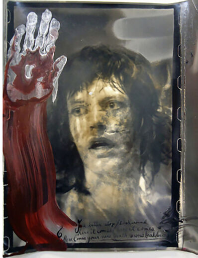 Peter Beard, 'Mick Jagger', 1972