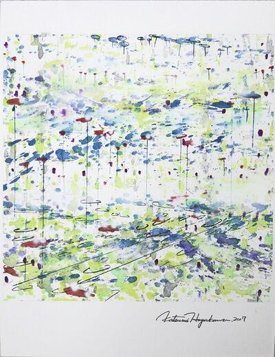 Katsumi Hayakawa, 'Daily Drawing No. 51, Structure-Floating', 2017