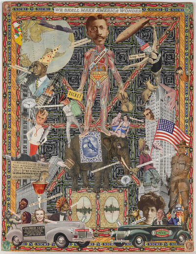 Felipe Jesus Consalvos, 'We Shall Make America Wonder (Double-sided)', 1920-1950