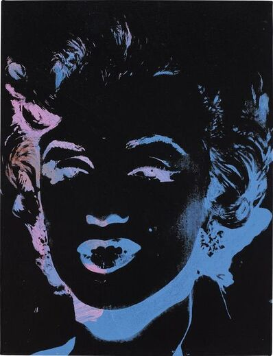 Andy Warhol, 'One Multicolored Marilyn (Reversal Series)'