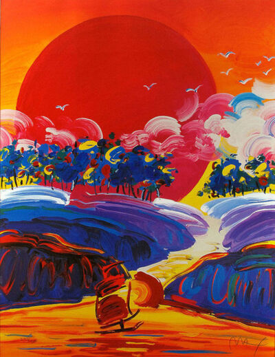 Peter Max, 'Without Borders II', 2002