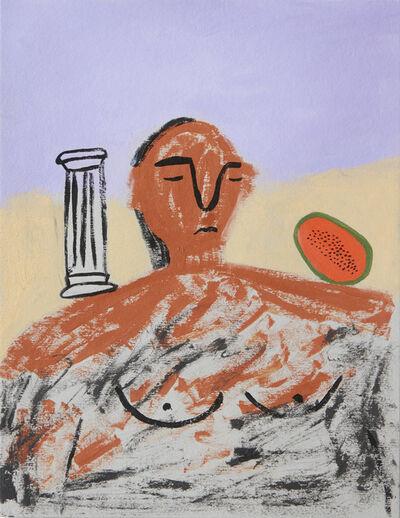 Lilian Martinez, 'Papaya Shoulder', 2016