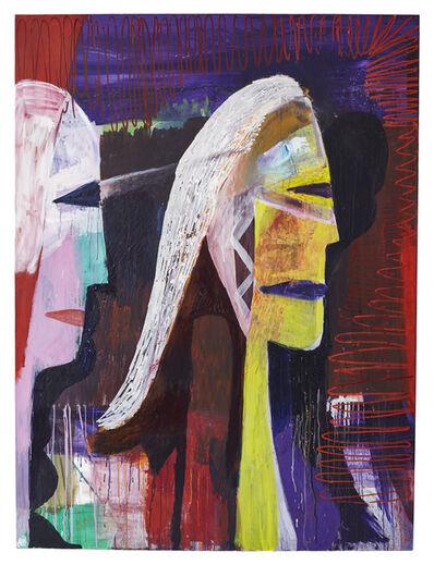 Matthias Dornfeld, 'Ohne Titel (2 Profis, einer mit gelbem Hals)', 2010
