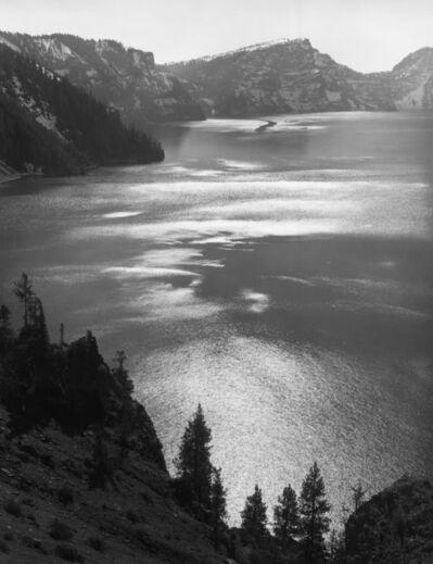 Ansel Adams, 'Afternoon Sun, Crater Lake National Park, Oregon', 1943