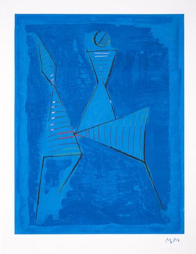 Marino Marini, 'Marino From Goethe Plate 1 ', 1979