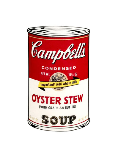 Andy Warhol, 'Oyster Stew Soup', 1970