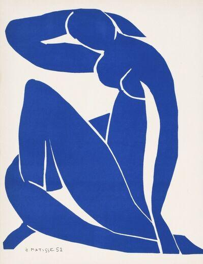 Henri Matisse, 'Nu Bleu - Femme Assise. No 2. Seated Woman', 1952