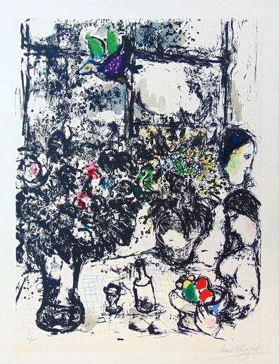 Marc Chagall, ' Still Life with Bouquet | Nature Morte au Bouquet', 1960