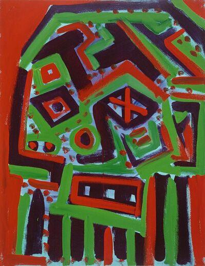 A.R. Penck, 'Self Portrait 4', 1989