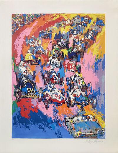 LeRoy Neiman, 'INDY START', 1973