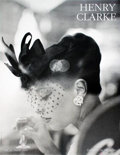 Henry Clarke, 'Orcel, Paris (1954)', 1986
