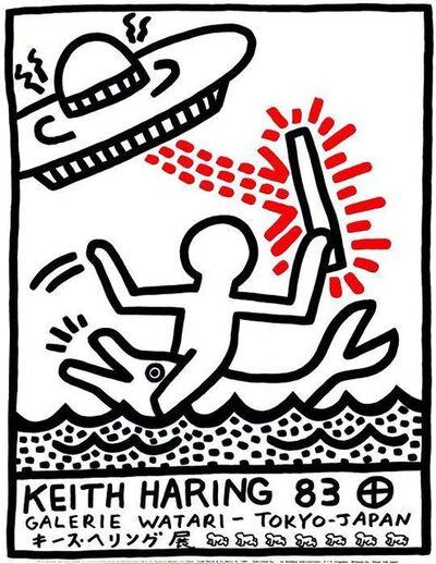 Keith Haring, 'Galerie Watari Poster, Tokyo, Japan', 1983