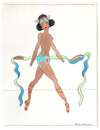 Barbara Nessim, 'Womangirl with Hands Off', 1972